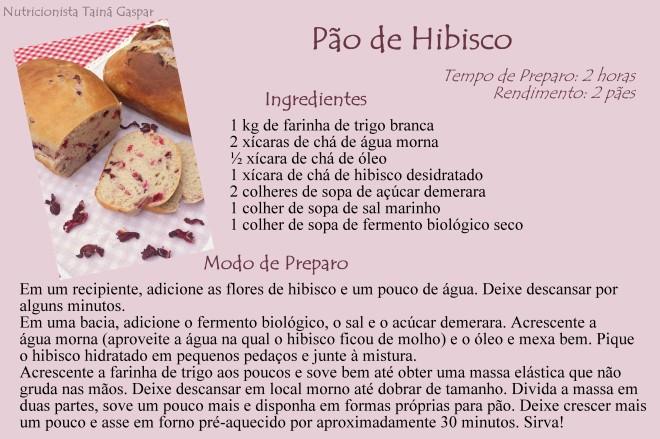 Pão de Hibisco